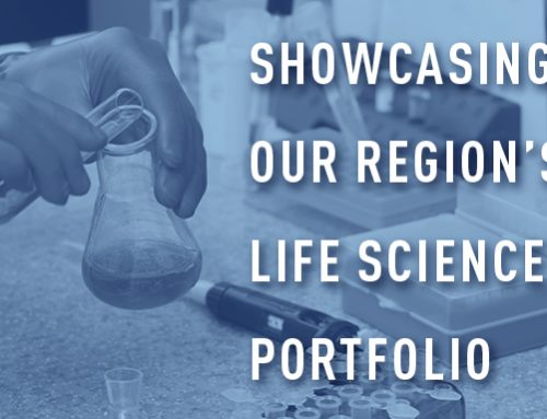 Showcasing our region's life sciences portfolio
