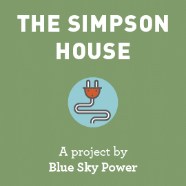 The Simpson House, a project by Blue Sky Power