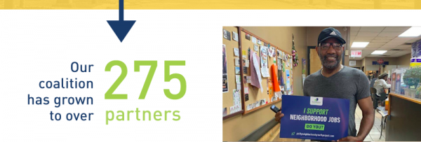 Our coalition has grown to over 275 partners