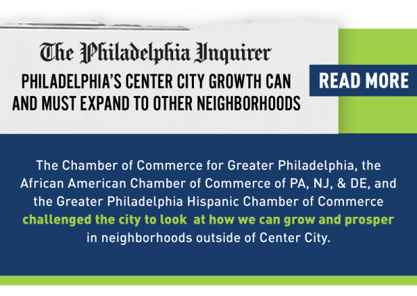 """Read more: """"Philadelphia's Center City growth can and must expand to other neighborhoods"""""""