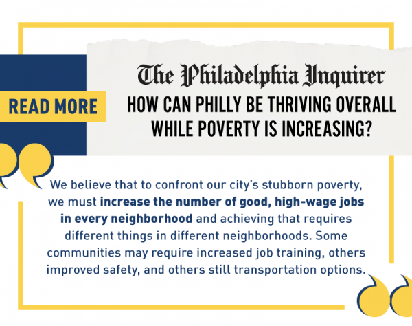 """Read more: """"How can Philly be thriving overall while poverty is increasing?"""""""