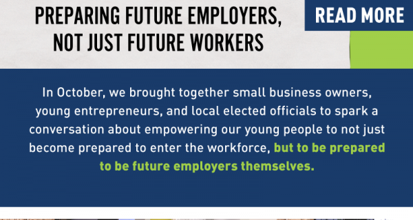 """Read more: """"Preparing future employers, not just future workers"""""""