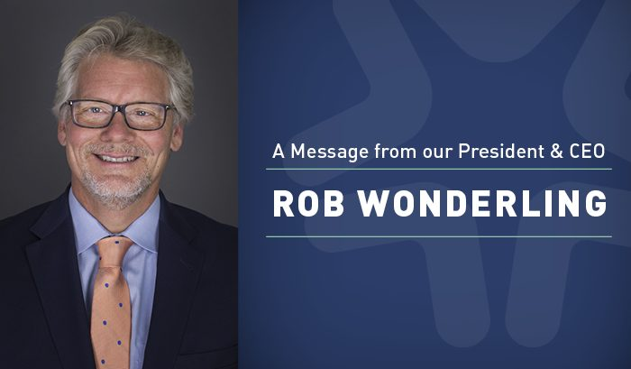 Photo of Chamber of President & CEO Rob Wonderling